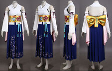 Final Fantasy X Yuna Cosplay Costume Any Size