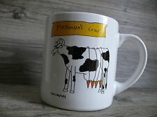 Madonna's Cow & Cat Novetly Mug 1993 Callahan Design Music Lovers Gift 12 ounces