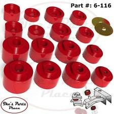 Prothane 6-116 Body Mount Bushing Kit-16pc 01-05 Ford Explorer Sport Trac 2/4WD