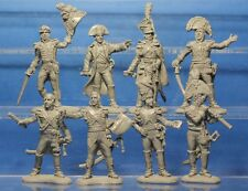 Plastic Toy Soldiers Napoleonic Wars French Army (Generals) 1/32 54 mm