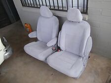 set 2 Gray Cloth   Bucket Seats  new unused takeouts 2015 / 2016