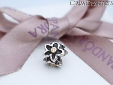 Authentic Pandora Silver 14k Gold HE LOVES ME Diamond Charm 790541D RETIRED