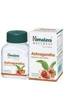 6 x Ashvagandha | New Ashwagandha Tablets | Himalaya Pure Herbs | Long Expiry