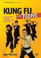 DVD KUNG FU FOR TEENS Serious Workout Learn Real Kung Fu! Ben Warner NEW