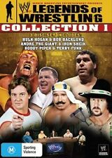 WWE LEGENDS OF WRESTLING COLLECTION 1 DVD HULK HOGAN 3 DISC SET REG 4 BRAND NEW