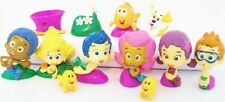 BUBBLE GUPPIES 12 Figure Set PVC TOY Cake Topper GIL Molly NONNY Deema OONA Goby