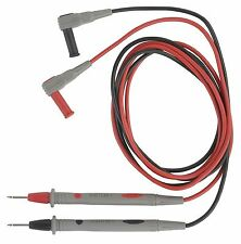 REED TL-88-1 Test Leads. Flexible Silicone Insulated Safety Test Leads