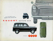 Ford Escort Estate 1959-61 UK Market Sales Brochure Anglia 100E