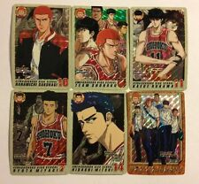 Slam Dunk TV Animation Carddass Part 5 Prism Set
