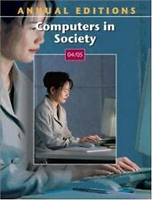 Annual Editions: Computers in Society 04/05 De Palma, Paul Paperback