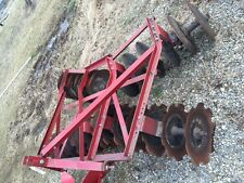 "International Farmall IH tractor 3pt hitch REAL NICE Original 7 1/2"" adjust disk"