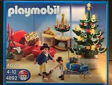 Playmobil 4892 - Christmas Room w/ Light Up Tree & Advent Wreath - NEW IN BOX