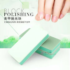 2x 2 Ways Nail Art File Buffer Polishing Block Smooth Shine Manicure Tips Tools