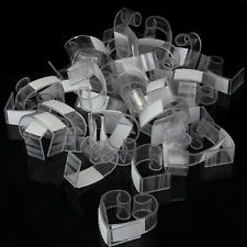 50pcs Plastic  Table Skirt Skirting Clips 4-6cm Wedding Party ED