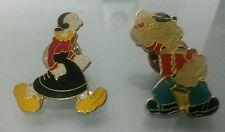 2 PINS POPEYE Y OLIVIA