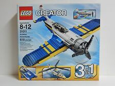 LEGO 31011 Creator Aviation Adventures 3 in 1 Retired Discontinued Sold Out