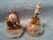 COGSWORTH & LUMIERE of BEAUTY & THE BEAST  RON LEE  DISNEY RL1 ! MM1507 & MM1508