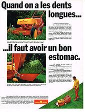 PUBLICITE  1970   OUTILS WOLF    tondeuse