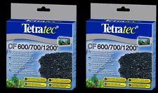 2 x TetraTec Carbon Tetra Tec EX600 EX700 EX1200 EX2400 Tropical Fish Media