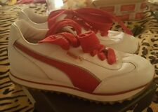 Puma California Blue Poppy Red-Urban Sneaker Women's Size 8