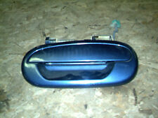 OEM 99 Ford Expedition Blue Rear Driver's Side Door Handle w/Garnish Trim, entry
