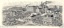 Brauerei Felsenkeller Herford Reklame & Historie 1925 Bier Werbung Brewery beer