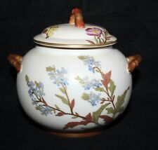 Royal Worcester - Blush Ivory, Pattern W2010 - Lidded Sucrier - 1888 - vgc