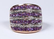 Ring,IV-Harry Ivens,Silber -925-, Amethyste und Weißtopas    (629/5280)