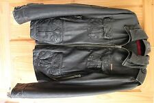 Superdry Brad Leather Jacket X Large Mens