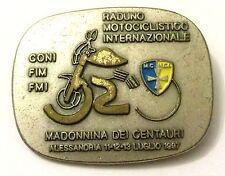 Spilla Raduno Motociclistico Internazionale - Madonnina Dei Centauri Alessand