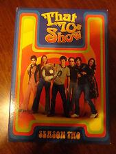That 70's Show Season Two 2 (4 Disc DVD Set, 2005)