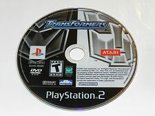 Transformers Sony Playstation 2 PS2 Video Game Disc Only