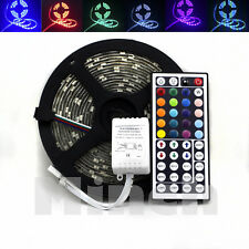 5M 5050 SMD Waterproof RGB 150 LED Flexilble Strip Light + 44 KEY IR Controller