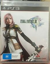Final Fantasy XIII 13 PlayStation 3 PS3 Brand New Sealed Australia Version