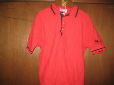 2001 National Jamboree Red Polo Shirt, adult small,      cu83