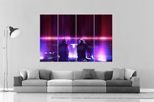 DAFT PUNK MIX  DJ PARTY Wall Art Poster Grand format A0 Large Print