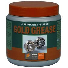 Lubrificante al Rame Gold Grease 750ml Faren _Grasso Alte Temperature Cuscinetti