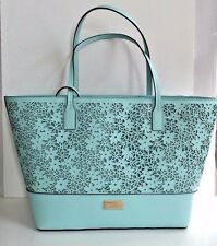 NWT Kate Spade small Margareta Bradford Court Shoulder Handbag Grace Blue
