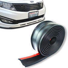 10' FLEXIBLE FRONT BUMPER LIP FOR SPOILER SPLITTER VALANCE BODY KIT AIR DAM P11