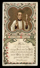 antico santino cromo-holy card S.FRANCESCO DI GERONIMO
