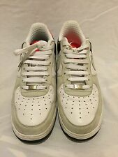 Nike Air Force 1 2008 Low Premium Max AF1 82 Infrared 318775-101 US 10 EU 44 EUC