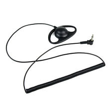 20-20KHz 3,5mm D Shape Auricolare Earhook per ICOM Yaesu +jack da 3,5mm mono IT