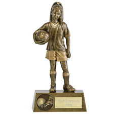 PHOENIX YOUTH FEMALE FOOTBALL TROPHY GIRL PLAYER AWARD FREE ENGRAVING A1792B