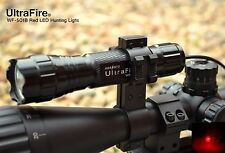 CREE 501B Red Beam Hunting Lamp Gun Rifle Light Ultrafire Scope Fit Night Vision