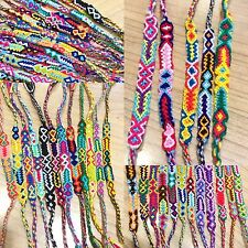 FRIENDSHIP BRACELETS Woven Wholesale Of 100 Wristbands Handmade Fair Trade Gifts