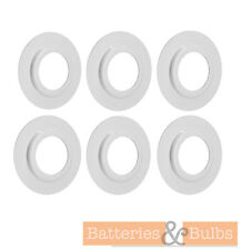 Lamp Shade Metal Ring Adaptor Converter Reducer Pack Of 6