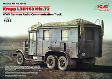 ICM - 35462 - Krupp L3H163 Kfz.72, WWII German Radio Communication Truck - 1:35
