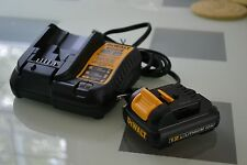 New 12v Dewalt DCB120 Lithium Battery & DCB107 12 volt Charger replce DCB100