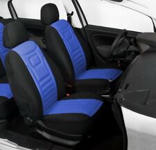 2 BLUE FRONT CAR SEAT COVERS PROTECTORS FOR KIA PICANTO