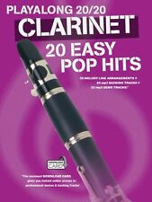 Playalong 20/20 Clarinet Easy POP HITS Chart Taylor Swift OLLY MURS Music Book